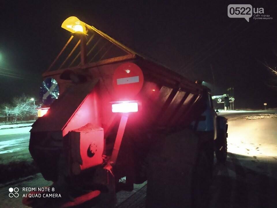 За крок до Нового року на Кіровоградщині випав сніг , фото-4