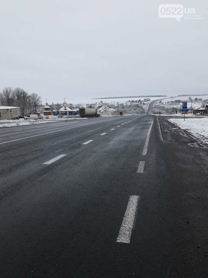 За крок до Нового року на Кіровоградщині випав сніг , фото-3