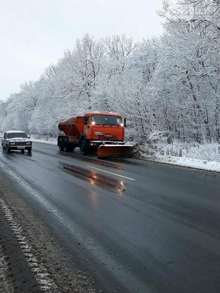 За крок до Нового року на Кіровоградщині випав сніг , фото-2