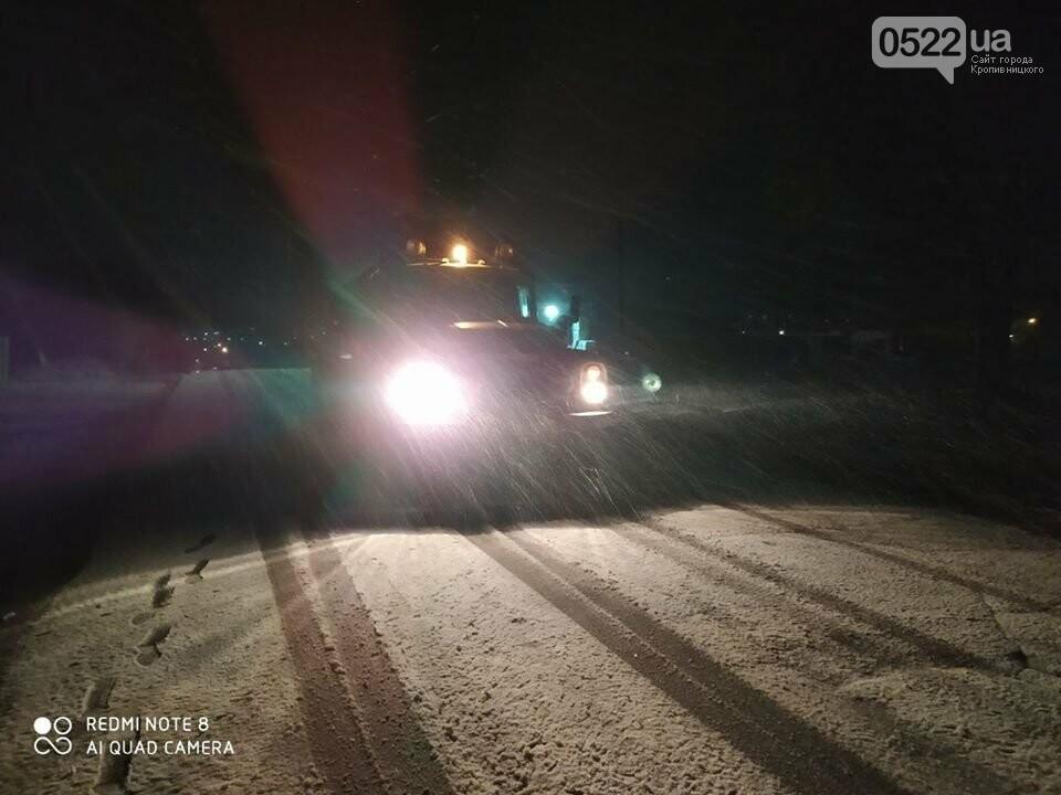 За крок до Нового року на Кіровоградщині випав сніг , фото-5