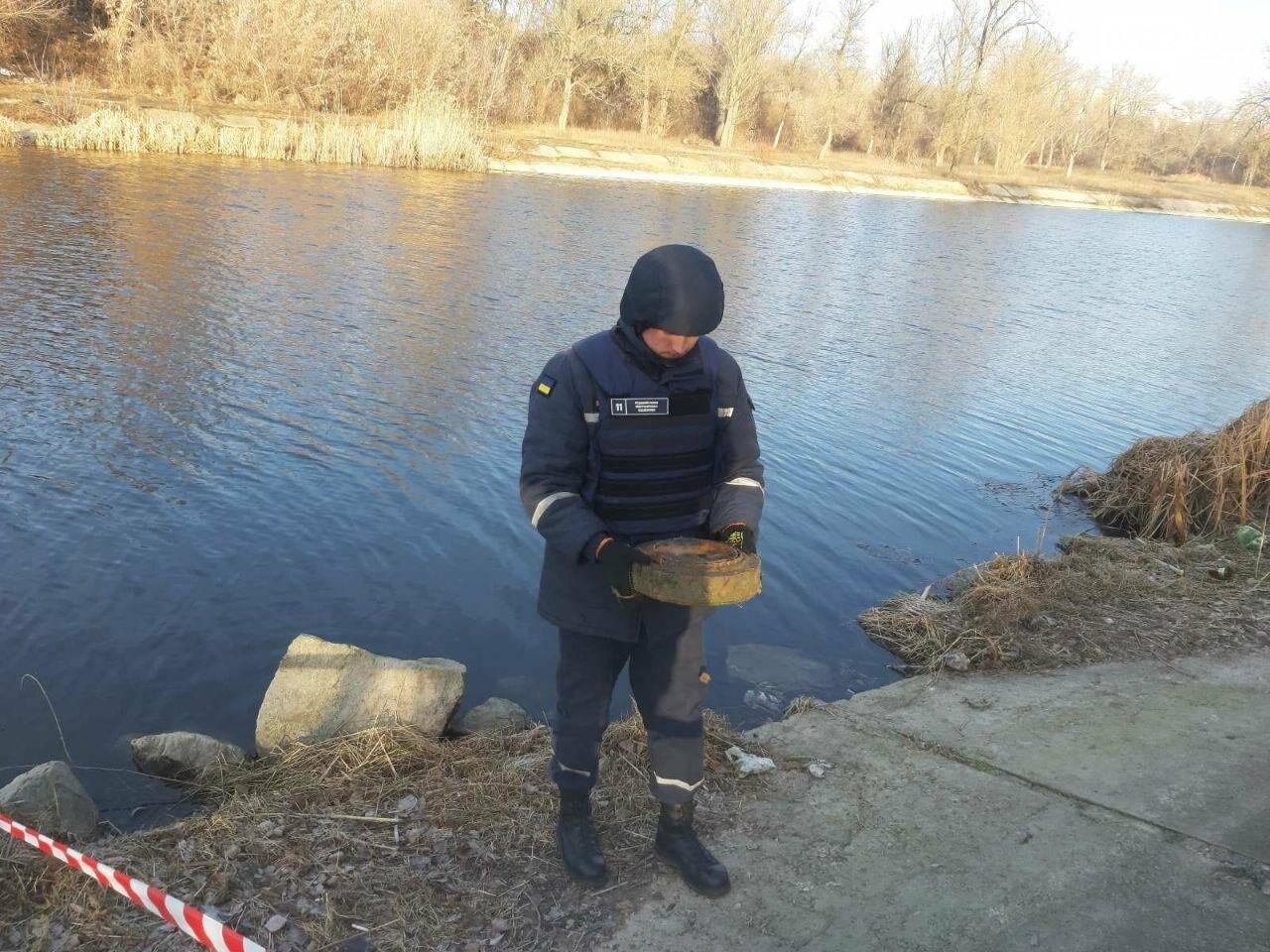 У середмісті Кропивницького виявлено протитанкову міну, фото-2