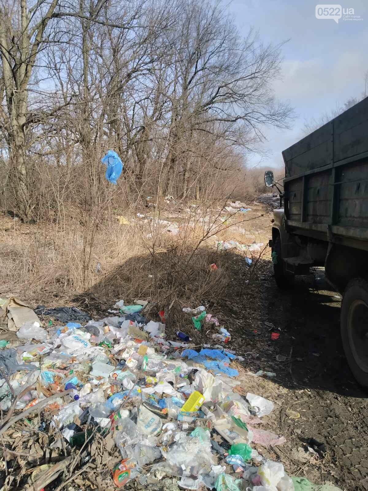 Працівники Кіровоградського облавтодору ліквідували несанкціоноване сміттєзвалище, фото-2