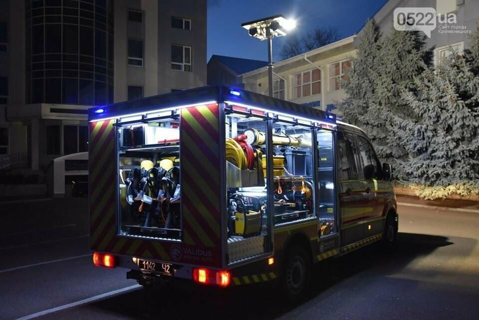Рятувальники Кіровоградщини отримали новий спецавтомобіль, фото-1
