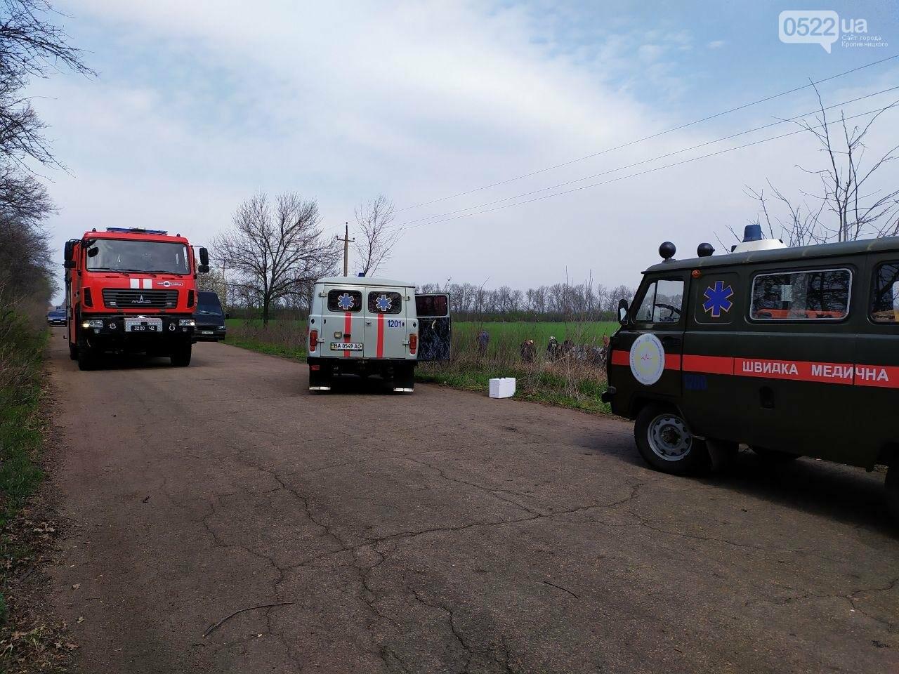 ДТП на Кіровоградщині: Рятувальники вивільнили чоловіка з автомобіля,, фото-6