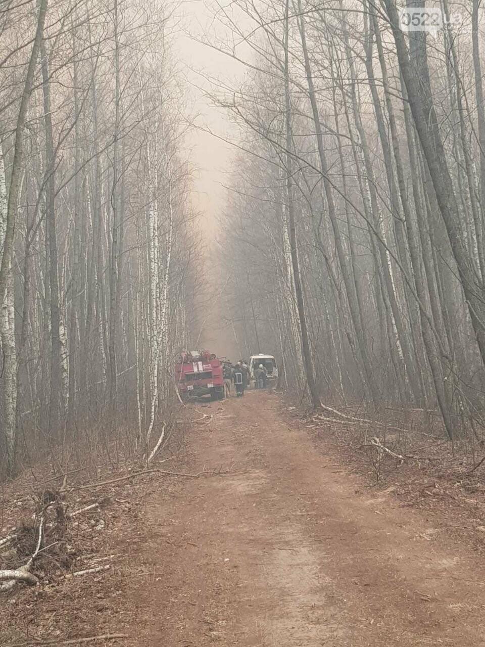 Зведений підрозділ кіровоградського гарнізону допомагає долати лісові пожежі на Київщині, фото-9