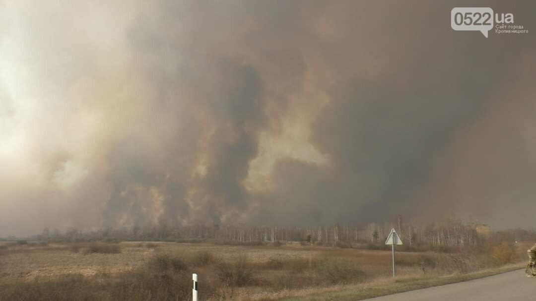 Зведений підрозділ кіровоградського гарнізону допомагає долати лісові пожежі на Київщині, фото-12