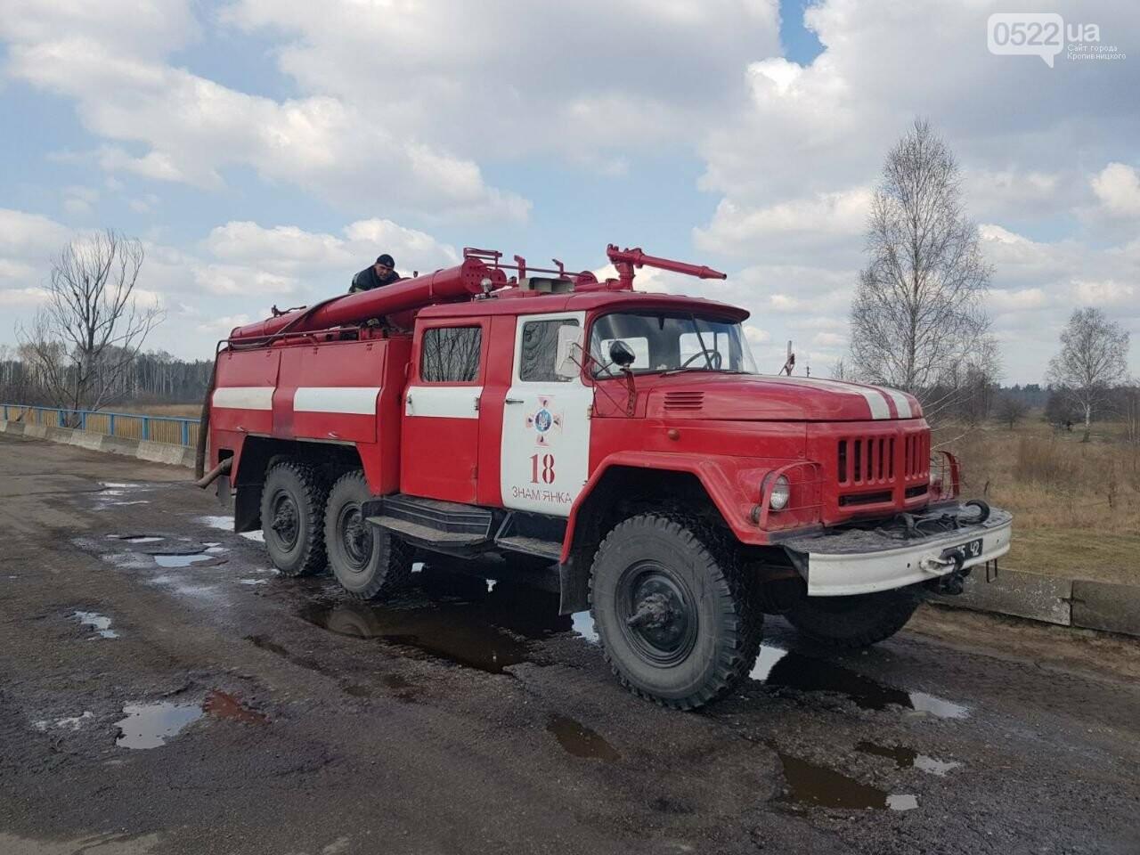 Зведений підрозділ кіровоградського гарнізону допомагає долати лісові пожежі на Київщині, фото-5
