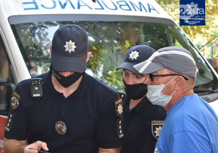 """""""Увага! Спецсигнал!"""": у Кропивницькому поліцейські нагадали містянам як важливо пропускати спецтранспорт, фото-6"""