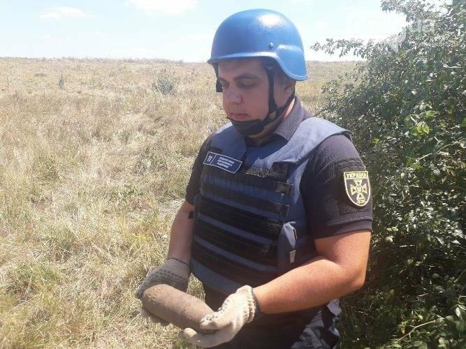 На Кіровоградщині у кар'єрі знищили знайдені боєприпаси, фото-2