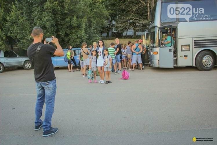 На Кіровоградщині діти поїхали до оздоровчого табору, фото-3