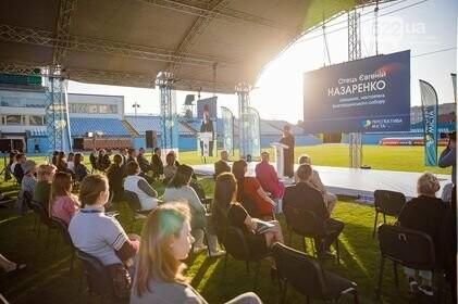 Стрижаков з відвертою промовою виступив на стадіоні «Зірка» у Кропивницькому (ВІДЕО), фото-3