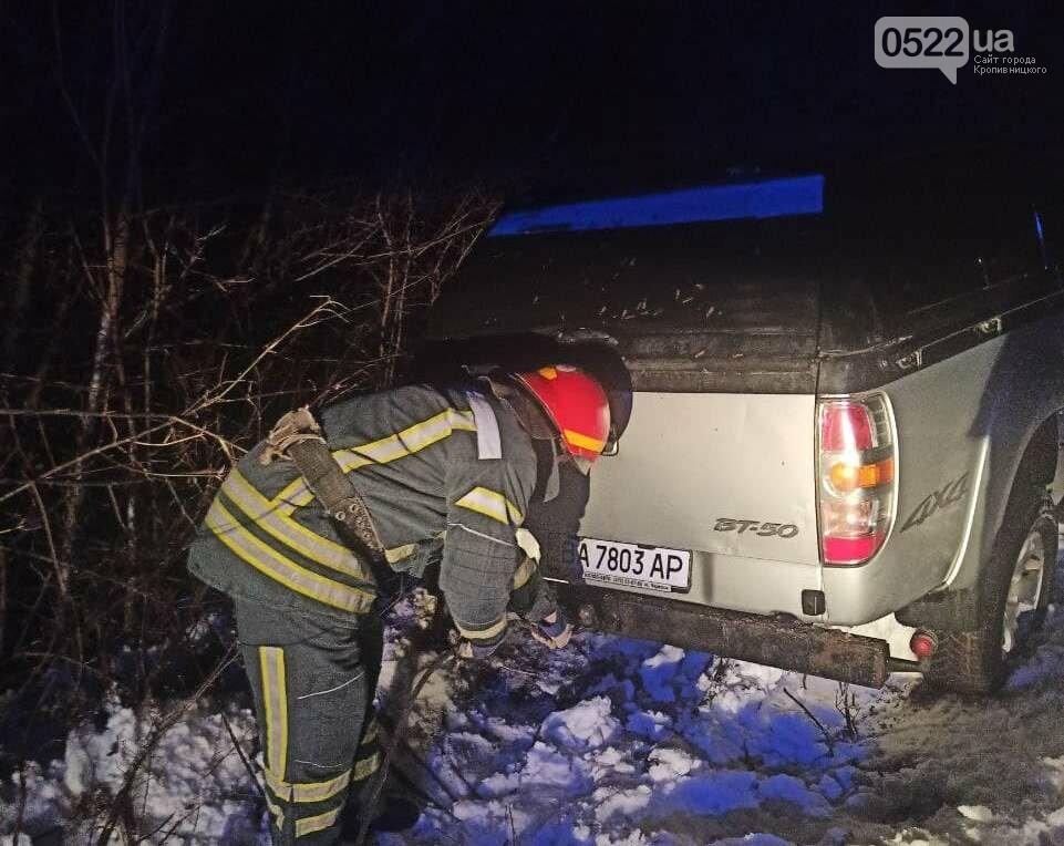 Рятувальники Кіровоградщини 4 рази надавали допомогу водіям, фото-2