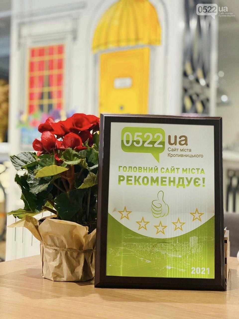 """""""Сайт міста Кропивницького 0522 Рекомендує"""" - нова рубрика і перше нагородження , фото-1"""