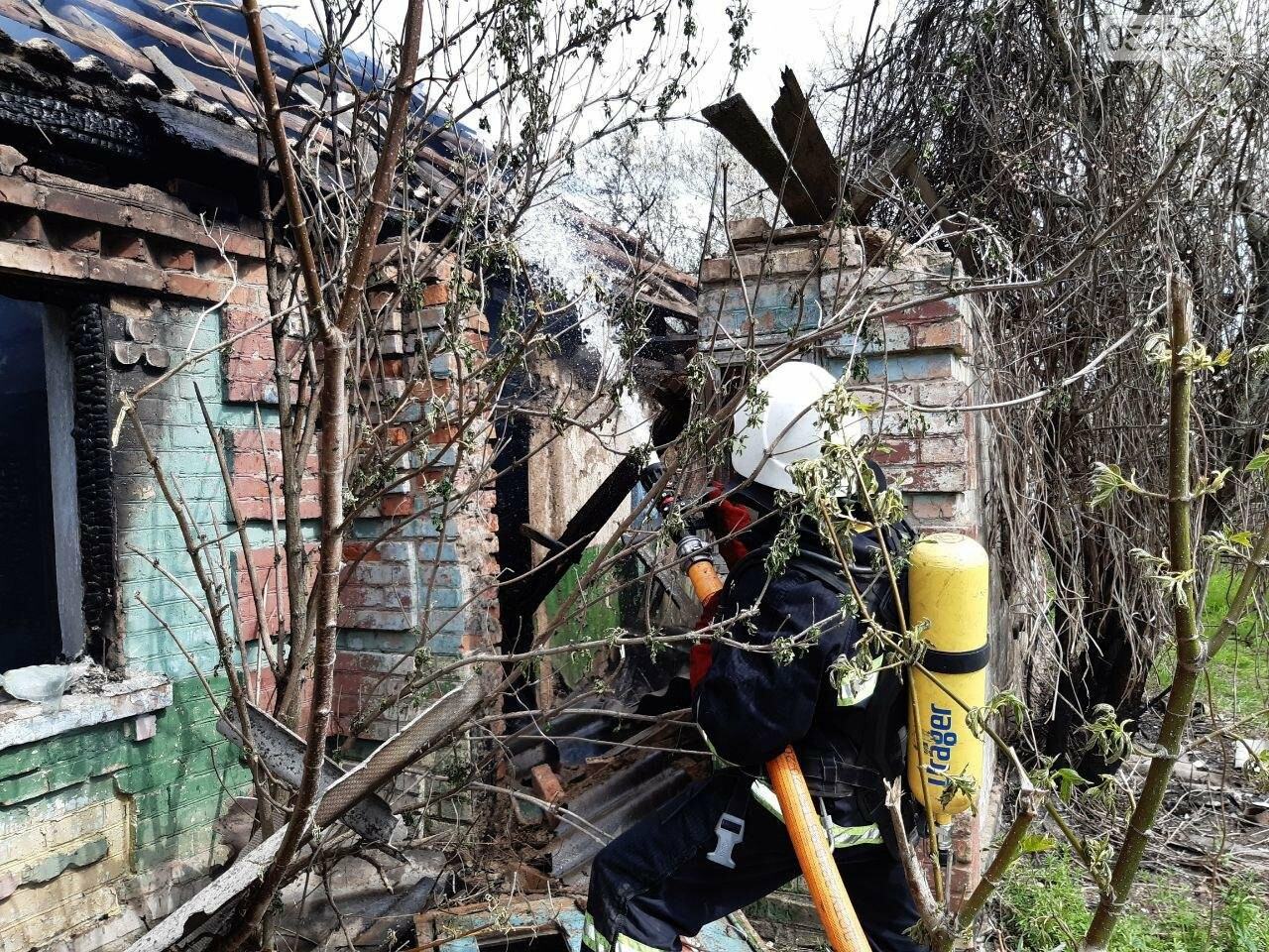 Рятувальники про ситуацію із займаннями на відкритих територіях і приватних будинках, фото-1