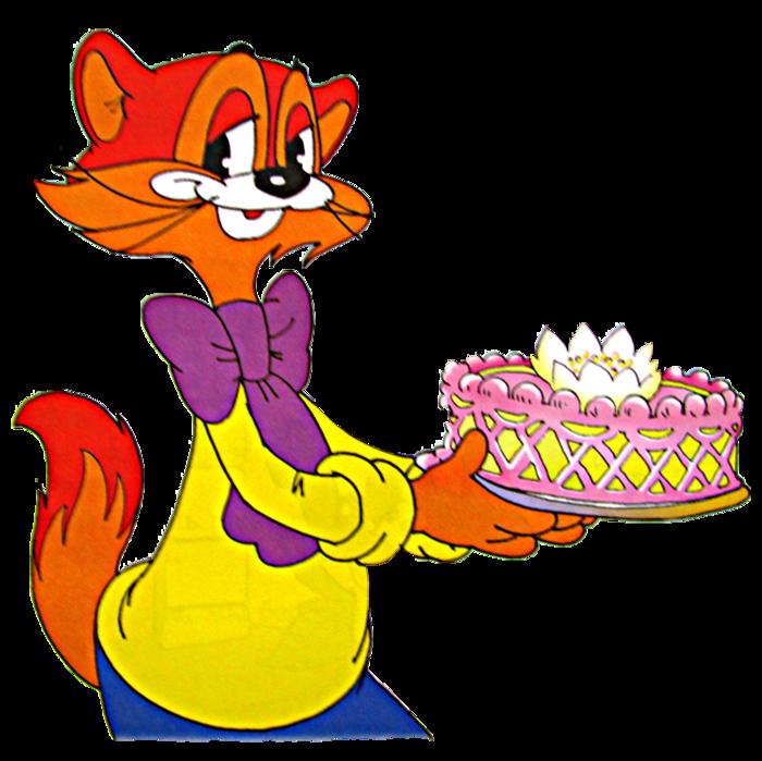 Картинка день рождения кота леопольда
