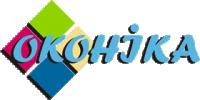 Логотип - Оконика, металлопластиковые окна и двери в Кировограде