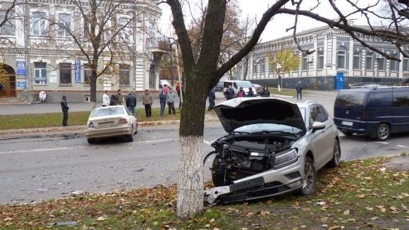 ДТП на Кировоградщине: водителя с места аварии увезла скорая.ФОТО, фото-7