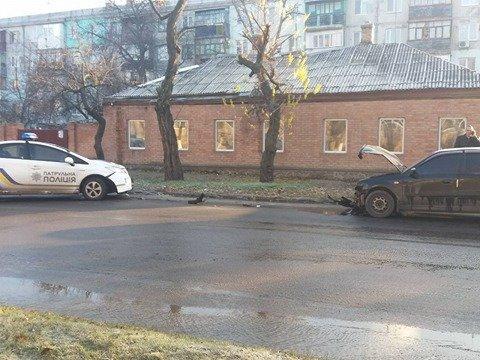 В Кропивницком патрульный автомобиль попал в ДТП. ФОТО, фото-2