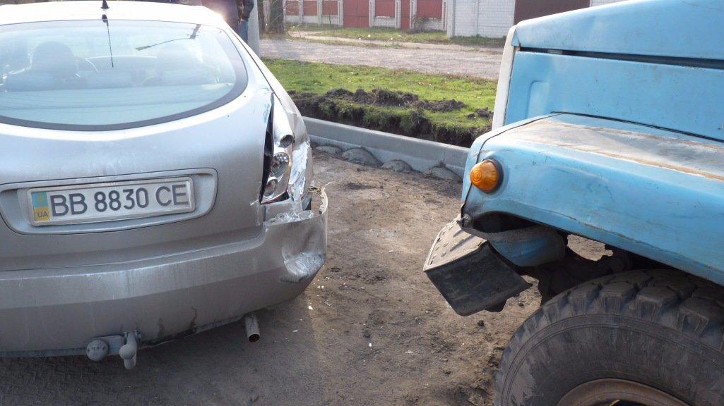 ДТП на Кировоградщине: ассенизаторская машина ударила иномарку. ФОТО, фото-1