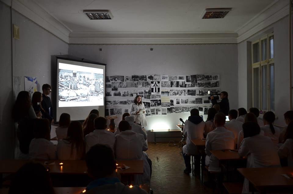 Кропивницькі студенти провели вечір-реквієм до Дня пам'яті жертв Голодомору. ФОТО, фото-1