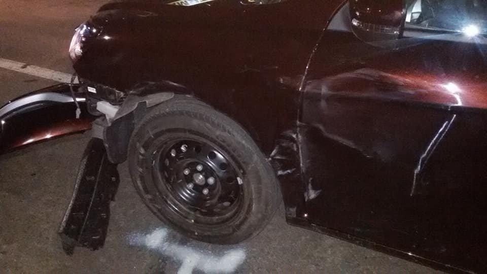 ДТП в Кропивницком: легковой автомобиль врезался в новый автобус.ФОТО, фото-4