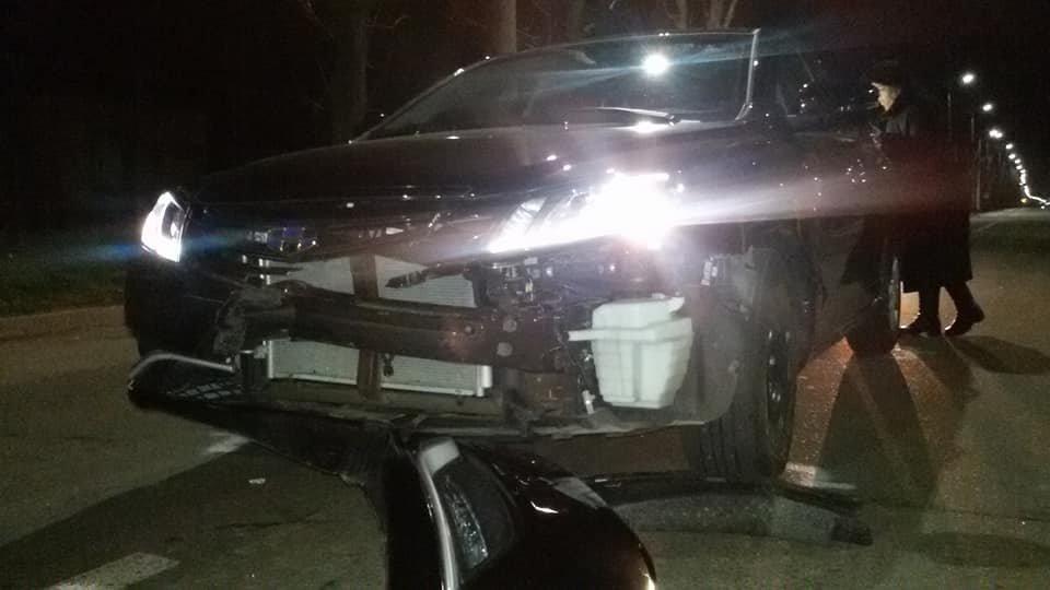 ДТП в Кропивницком: легковой автомобиль врезался в новый автобус.ФОТО, фото-6
