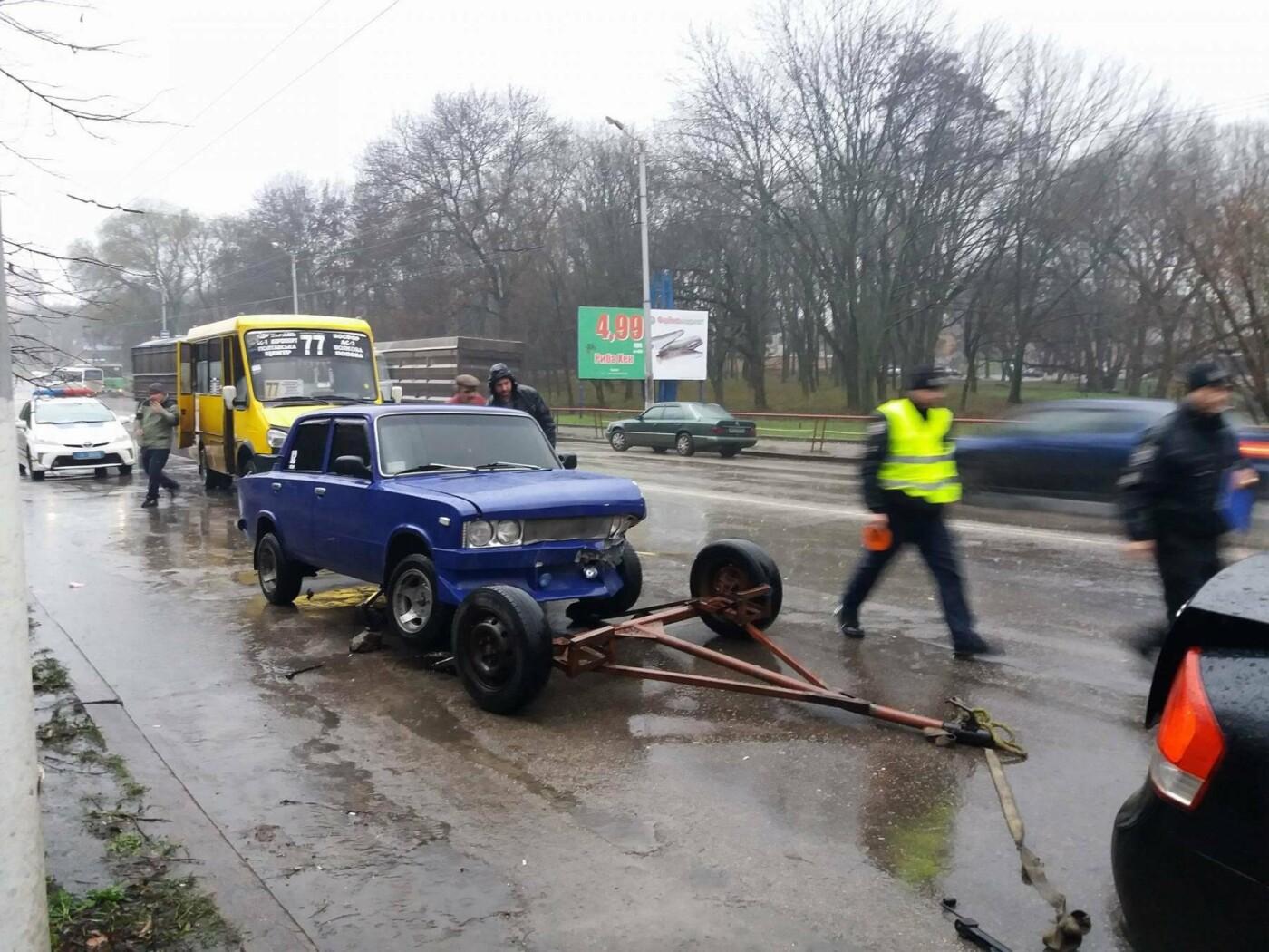 В Кропивником произошло тройное ДТП с участием маршрутки. ФОТО, фото-1
