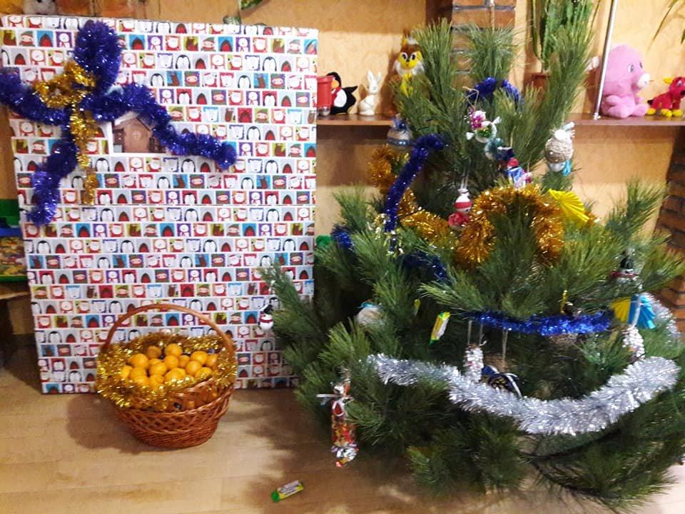 Лісівники подарували вихованцям дитячого будинку «Наш дім» новорічне деревце. ФОТО, фото-2