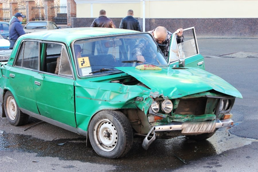 В центре Кропивницкого произошло ДТП. ФОТО, фото-2
