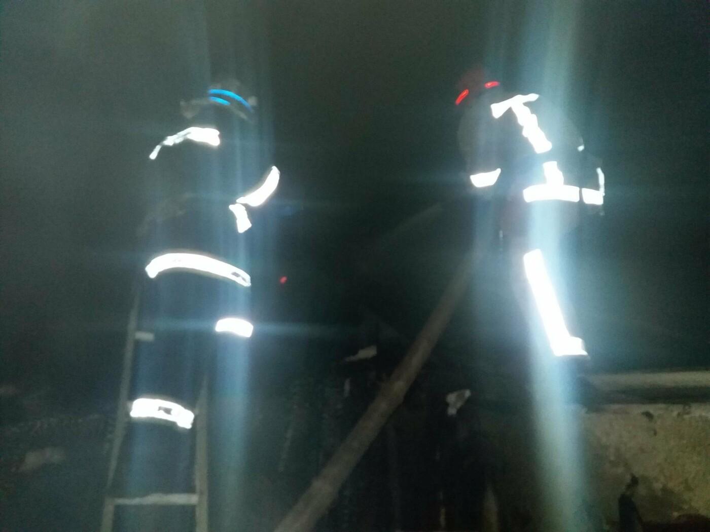 Кіровоградська область: вогнеборці загасили пожежу в господарчій споруді. ФОТО, фото-1