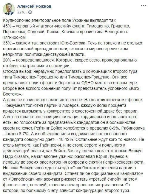 Експерти назвали ім'я єдиного кандидата від Опоблоку, фото-1