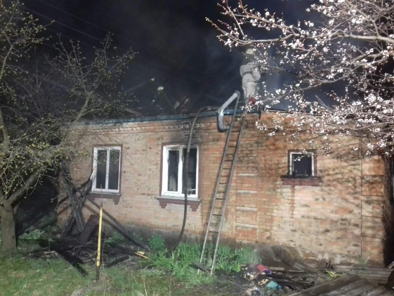Вогонь забрав життя двох людей на Кіровоградщині (ФОТО), фото-3