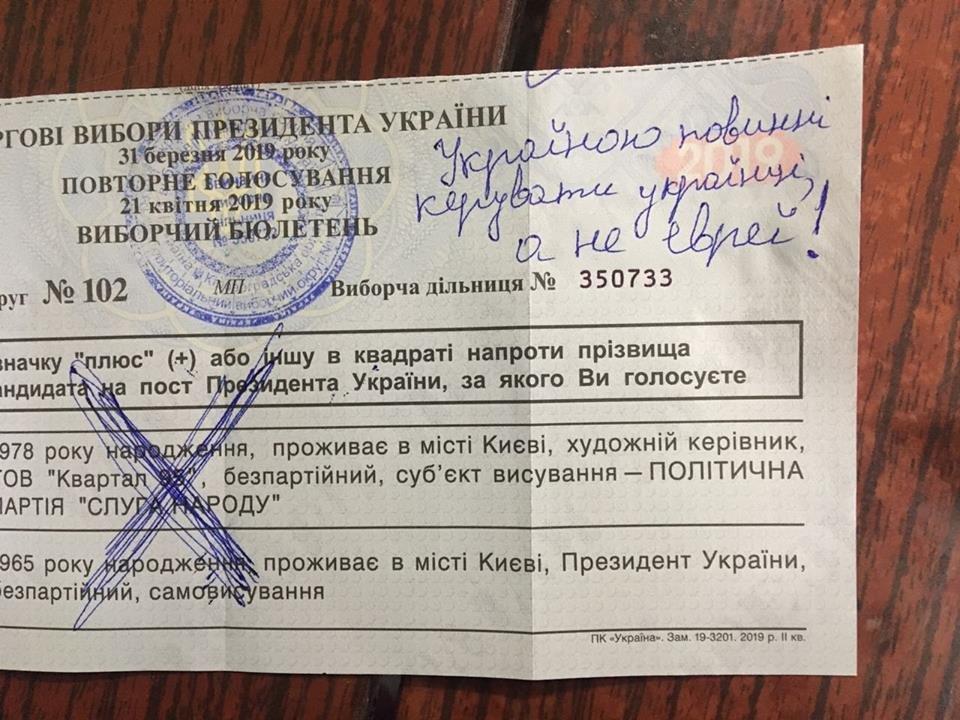 Що писали у бюлетенях жителi Кiровоградщини (ФОТО), фото-4