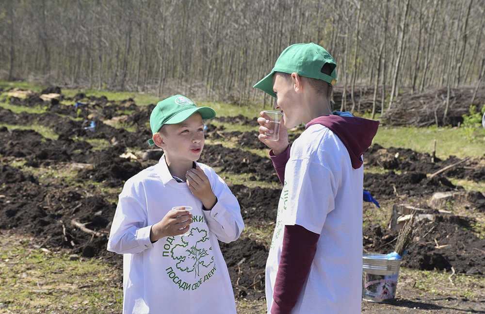 В урочищi на Кiровоградщинi висадили близько 3000 саджанцiв дуба (ФОТО), фото-9