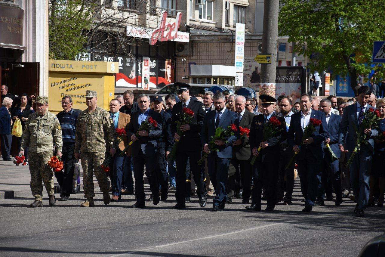У Кропивницькому вшанували пам'ять ліквідаторів Чорнобильcької катаcтрофи (ФОТО), фото-6