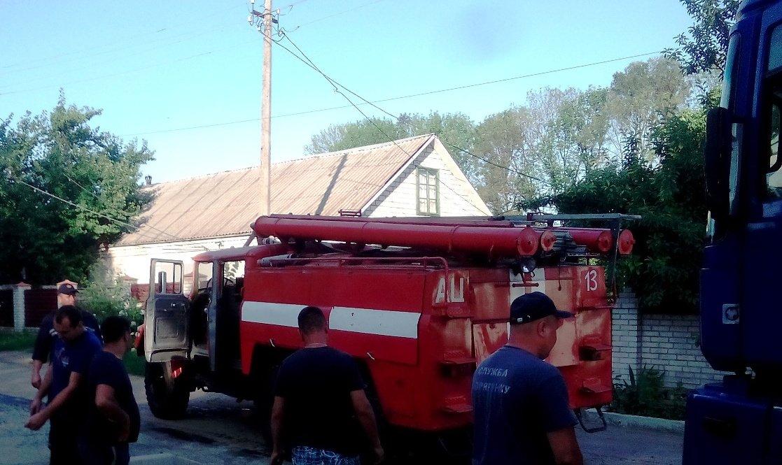 На Кіровоградщині  бійці ДСНС надали допомогу водію автомобіля (ФОТО), фото-1