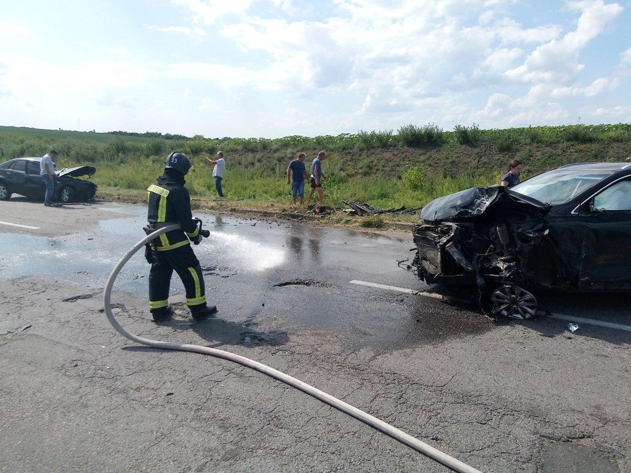 Маловисківський район: рятувальники залучалися до ліквідації наслідків ДТП (ФТО), фото-3