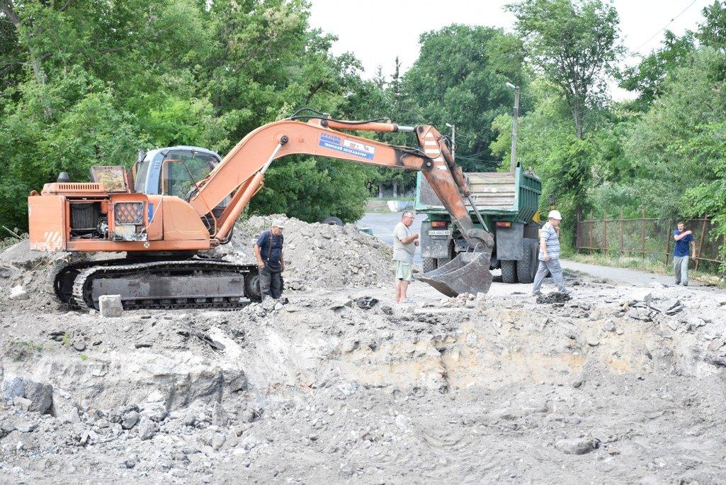 В Благовіщенську розпочали реконструкцію дамби (ФОТО), фото-4