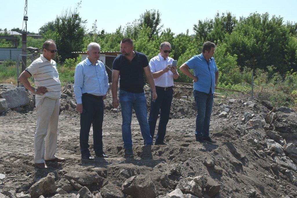 В Благовіщенську розпочали реконструкцію дамби (ФОТО), фото-7