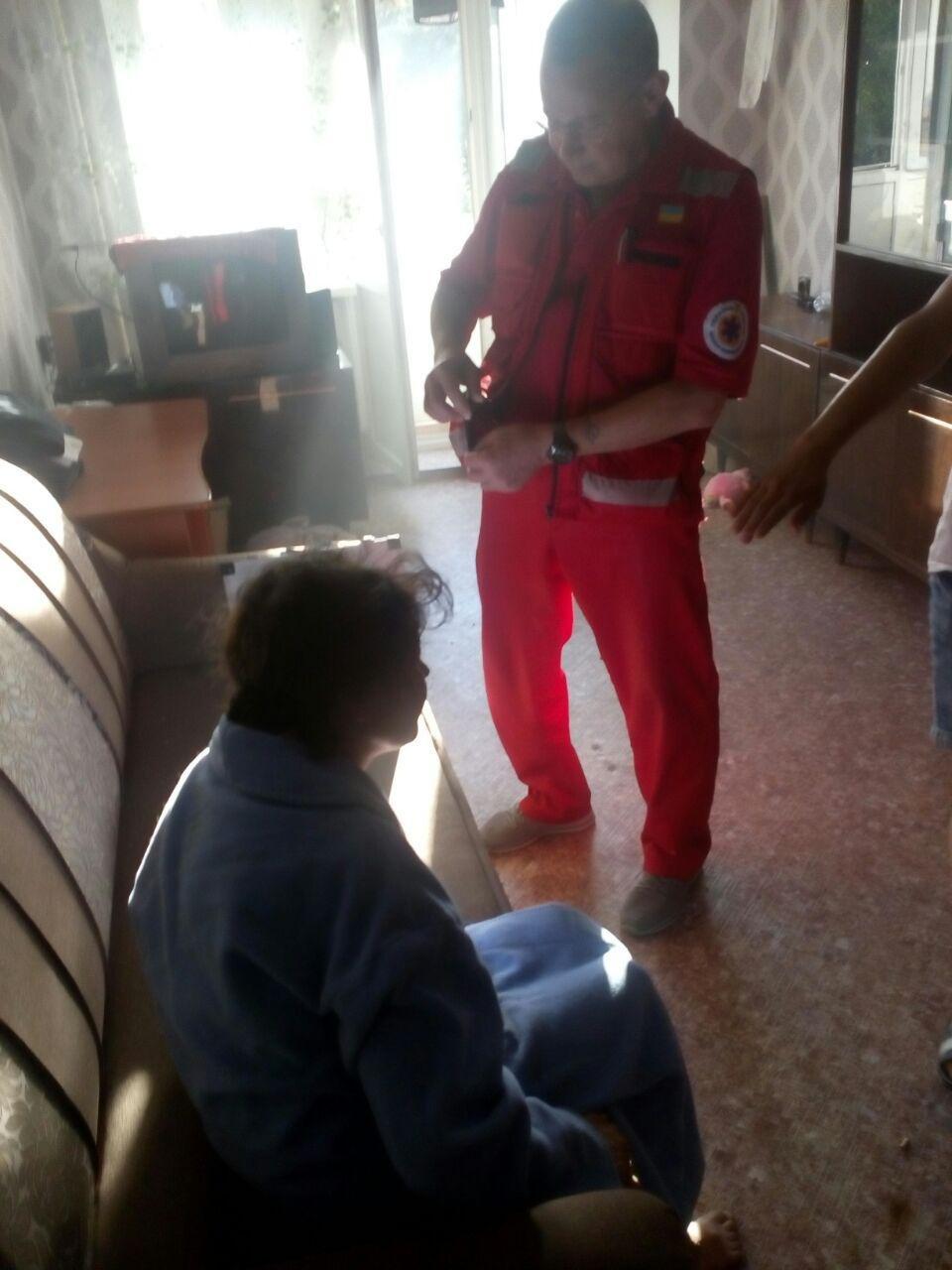 Кропивницький: на пожежі вогнеборці врятували 2 людини (ФОТО), фото-1