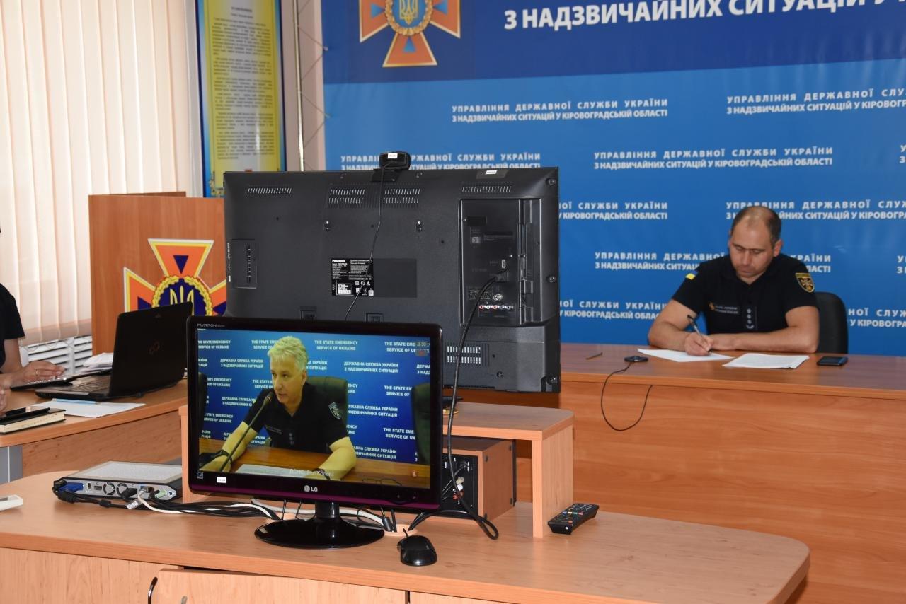 Кропивницький: керівництво Управління взяло участь у селекторній нараді ДСНС України (ФОТО), фото-2