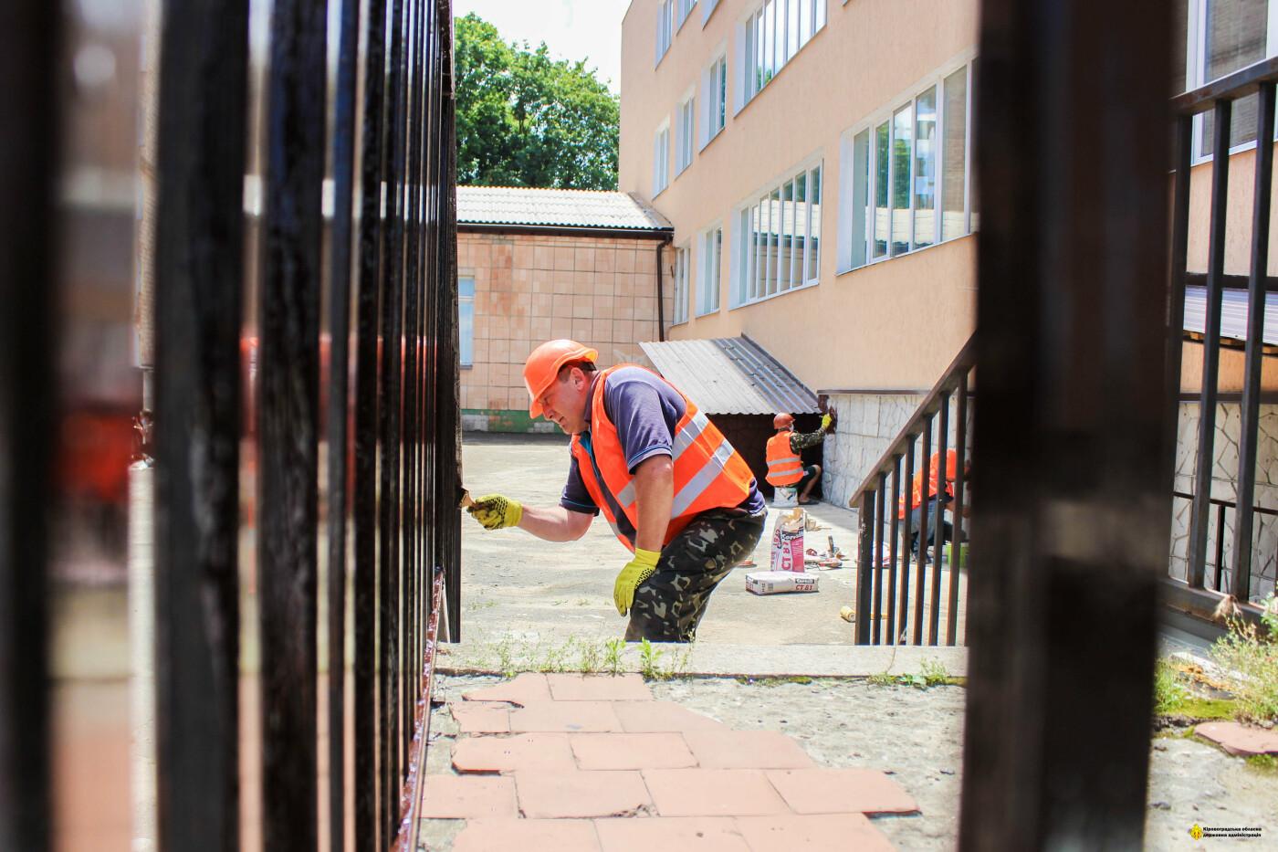 У єдиній школі в селищі Побузьке Голованівського району триває реконструкція, фото-7