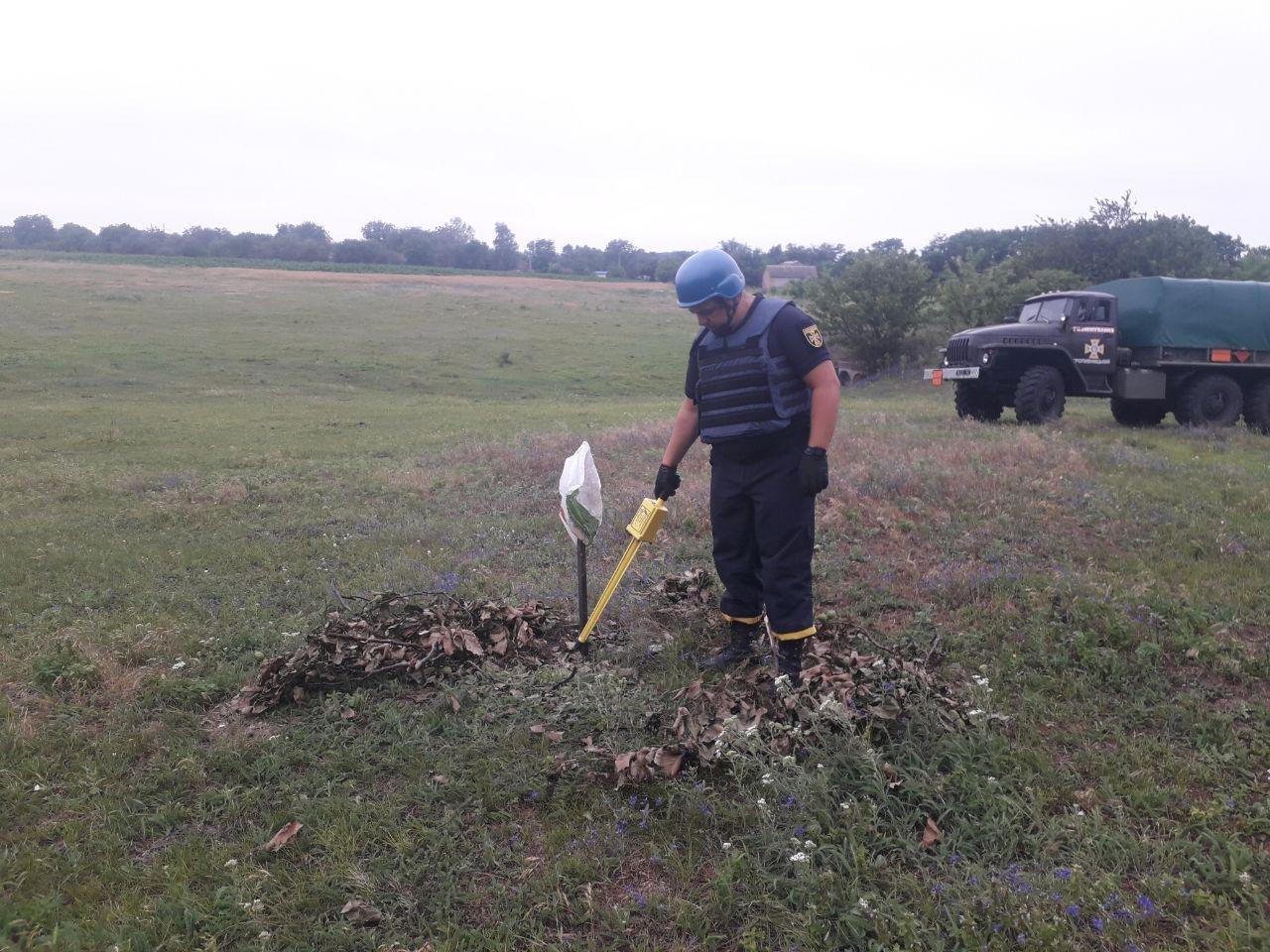 Кіровоградщина: сапери знищили дві міни часів Другої світової війни (ФОТО), фото-4