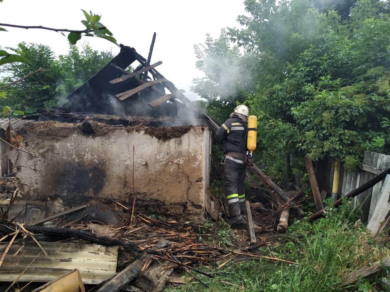 Кіровоградська область: рятувальники загасили дві пожежі у житловому секторі (ФОТО), фото-1